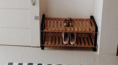 Sapateira de porta: inspirações desse item indispensável para sua casa