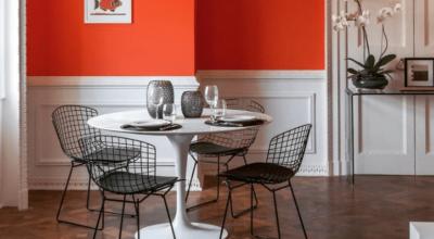 Cadeira Bertoia: sua história e 30 inspirações para usá-la na decoração