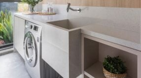 Lavanderia pequena: 85 inspirações lindas e funcionais