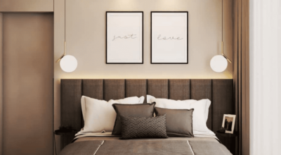 Quadros para quarto de casal: 60 ideias para uma decoração cheia de amor
