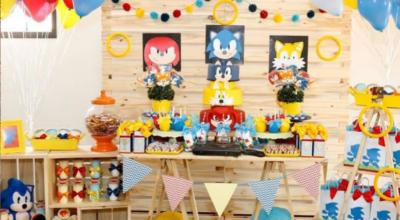 Festa Sonic: o porco espinho mais amado em 50 ideias incríveis