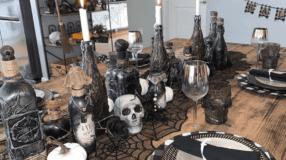 70 ideias de mesa de Halloween para uma decoração assustadora