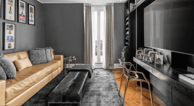 Sala preta: 60 ambientes poderosos que inspiram elegância