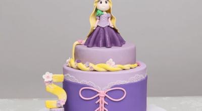 80 fotos incríveis de bolo da Rapunzel para arrasar na festinha