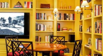 Biblioteca em casa: como organizar e 70 fotos para se inspirar