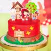 60 modelos e como fazer o clássico bolo da Chapeuzinho Vermelho