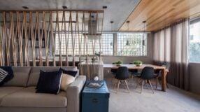 55 modelos de divisória de madeira com charme e funcionalidade