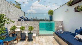 Ideias e dicas profissionais para construir uma piscina elevada