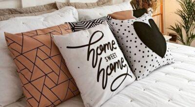 30 maneiras de usar almofadas Tumblr na sua decoração