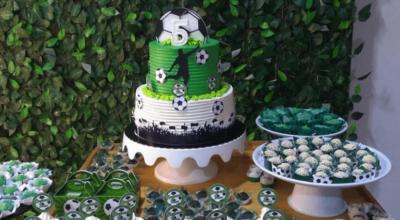 108 ideias de bolo tema futebol que são um gol de placa
