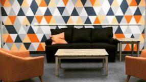 Aprenda a fazer uma parede com triângulos e transforme seu lar
