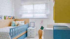 80 maneiras alegres de decorar um quarto infantil pequeno