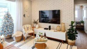 Como colocar TV na parede para ter um espaço sofisticado e clean