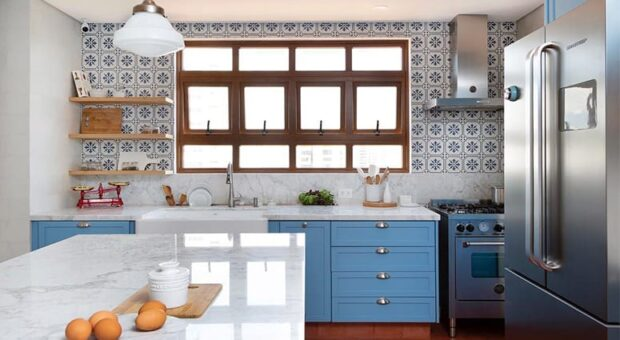 60 fotos de cozinha grande para quem tem espaço de sobra