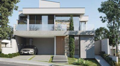 Inspirações e tendências de cores para fachada de casas