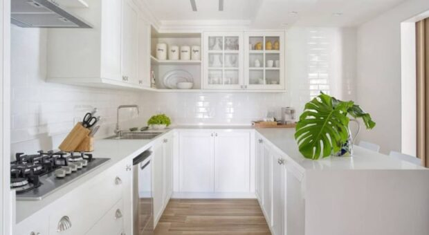 90 projetos de cozinha em U para adotar essa configuração