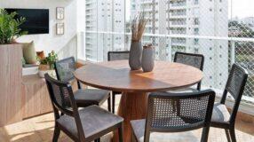 20 fotos lindas de mesa para sacada que vão decorar o seu espaço