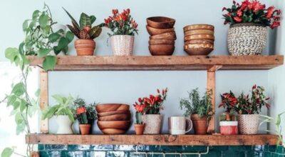 40 ideias de prateleira rústica para dar um toque natural e acolhedor ao ambiente