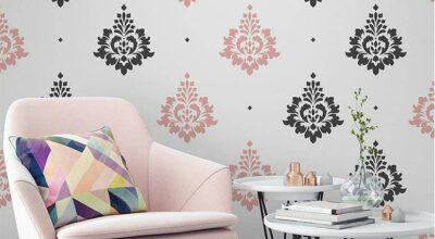 45 ideias com stencil para parede para deixar a sua casa mais linda