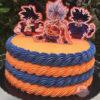 60 ideias de bolo Dragon Ball que deixariam o Mestre Kame orgulhoso