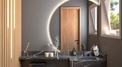 70 Ideias de espelho para lavabo que transformam o ambiente