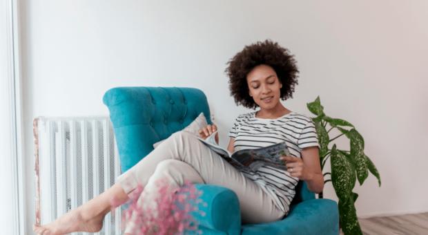 70 inspirações de poltronas para leitura que são confortáveis e modernas