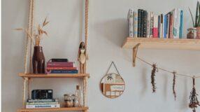 Como fazer prateleira com corda para dar estilo a sua casa