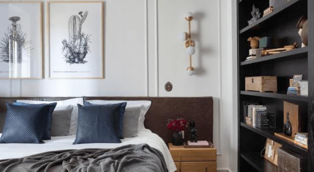 65 formas de usar boiserie no quarto e renovar o ambiente