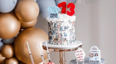 50 bolos no tema Grey's Anatomy para os formados em medicina de TV