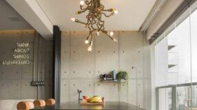 60 ideias para usar um lustre industrial na sua decoração