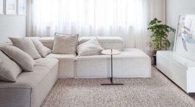 60 modelos de sofá de linho para se aconchegar com estilo