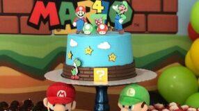 90 modelos de bolo Super Mario para os amantes de videogame