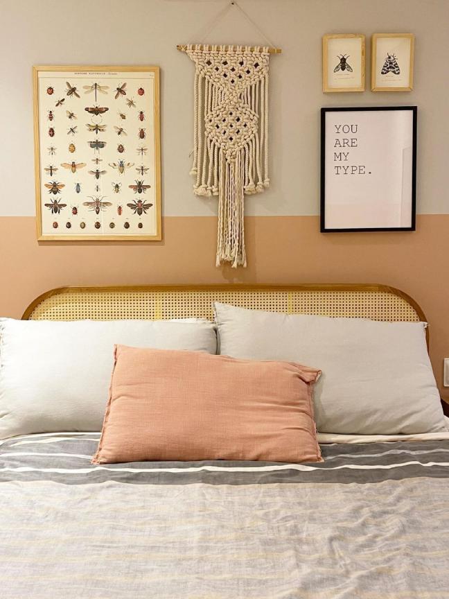 12 ideias de decoração de parede de quarto que são lindas e criativas