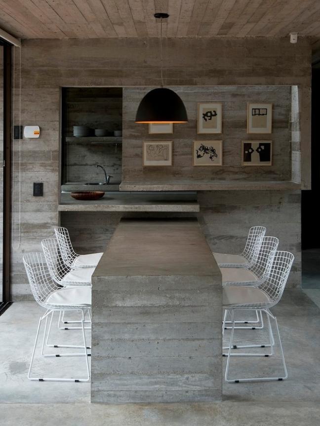 8 móveis de cimento para usar na sua casa