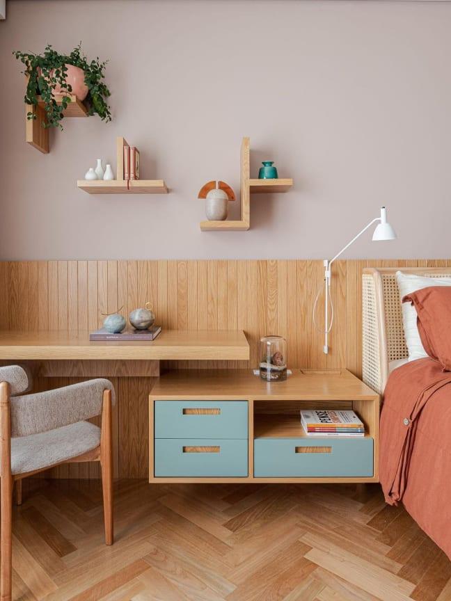 12 projetos imperdíveis com tons pastel na decoração