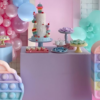 30 ideias de festa Pop It para se apaixonar por esse brinquedo