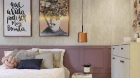 70 modelos de quadros para quarto feminino para decorar com estilo